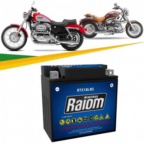 BATERIA DE MOTO RAIOM 18ah 12v RTX18L-BS - SELADA